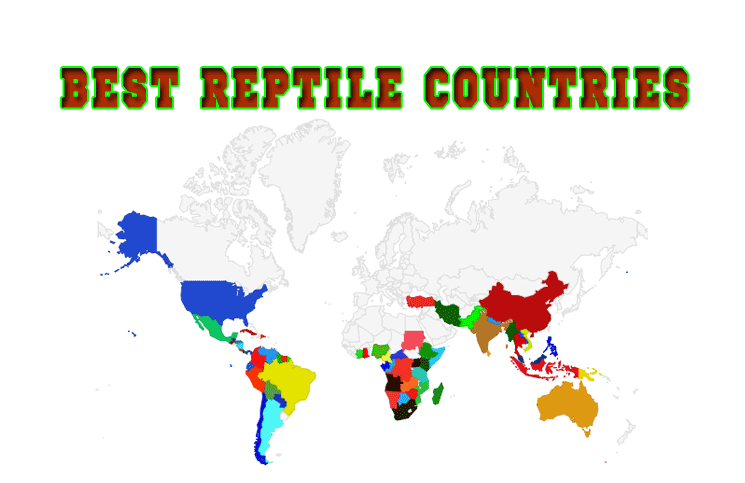 Map best reptile habitat in the world cobras gumiabroncs Choice Image